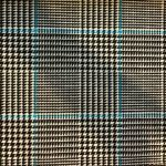 Houndstooth Black and Blue