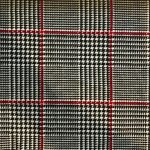 Houndstooth Black and Red