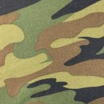 DTY Camo Print Wholesale fabric 1