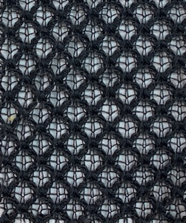 Fishnet Fabric HACCI Black