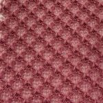 Fishnet HACCI Fabric Purple