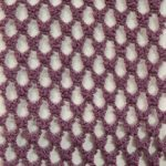 Medium Hole Fishnet Fabric Lavander