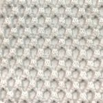 Fishnet Fabric Off White