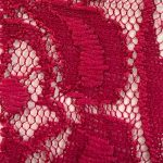 Lace Knit Fabric Magenta
