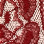 Lace Knit Fabric Maroon