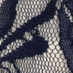 Lace Knit Fabric Navy