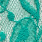 Lace Knit Fabric Seafoam