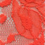 Lace Knit Fabric Coral Light