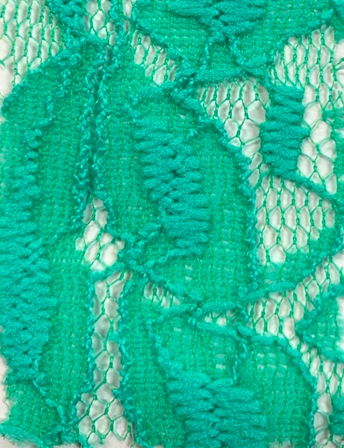 Lace Knit Fabric Mint