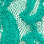 Lace Knit Fabric Mint-68