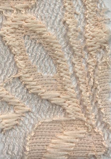 Lace Knit Fabric peach
