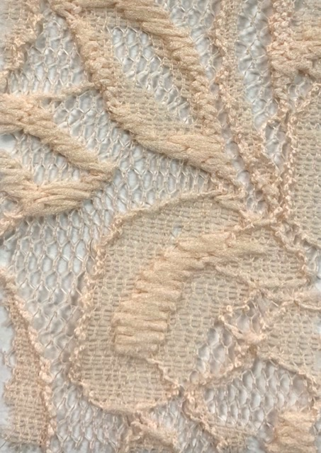 Lace Knit Fabric peach70