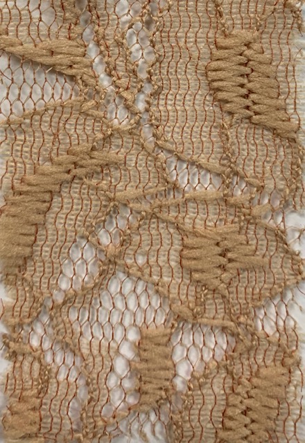 Lace Knit Fabric Taupe