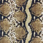 Power Mesh Snake Print Brown