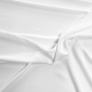 Rayon Fabric White
